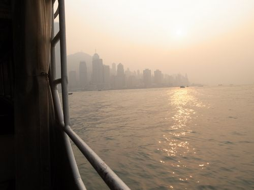 Hong Kong, ferry back